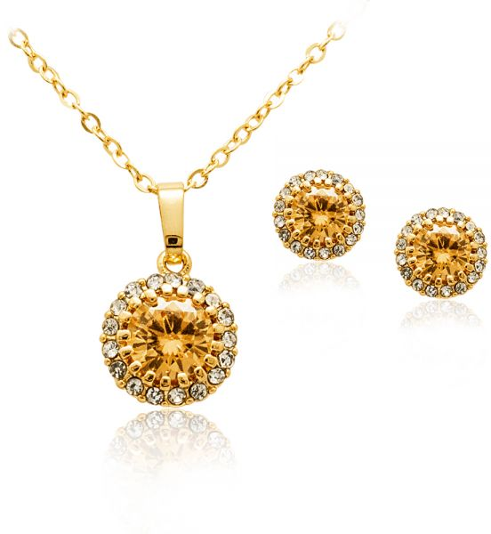 Light Pendant Set Buy mysmar white gold plated light golden crystal pendant set mm364 this item is currently out of stock audiocablefo