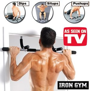 05fa3ed2d47 3 in 1 Bundle of Iron GYM Total Upper Body Workout Bar With Mini Fitness  Equipment And Flexible Sport Bag