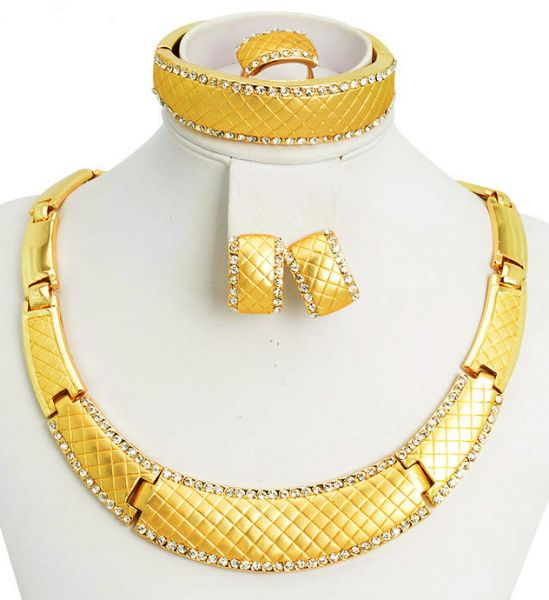 Buy 18k Real Gold Plated Bridal ITALIAN design JEWELRY SET with