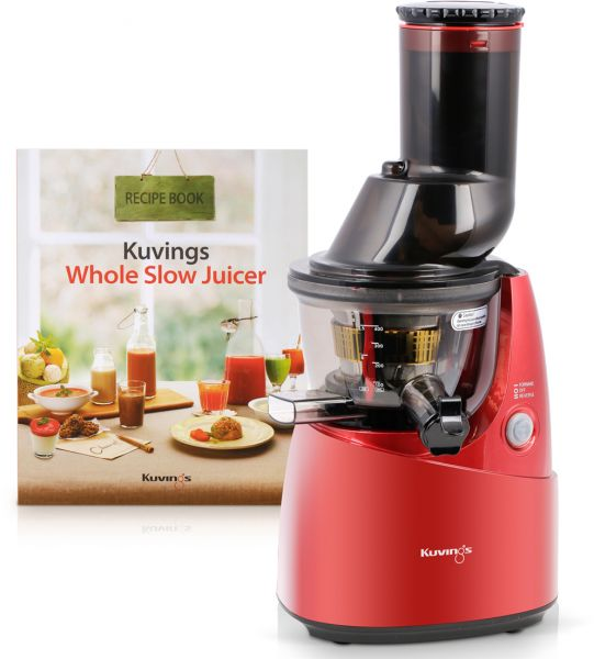 Juicepro Whole Fruit Slow Juicer : Kuvings - Slow Juicer - Red, price, review and buy in Dubai, Abu Dhabi and rest of United Arab ...