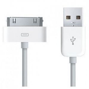 USB Charger Sync Data Cable Pr iPad2 3 iPhone 4 4S 3G 3GS iPod Nano Touch White