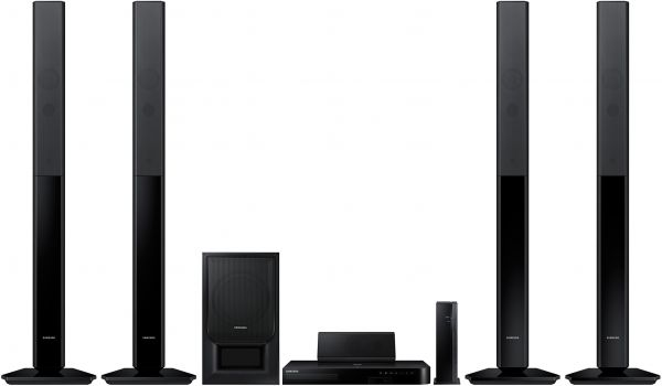 Souq Samsung HTH5550WK Bluray Home Theater Set 1000WWireless