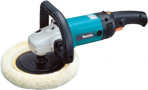 Makita Electronic Polisher Sander 1200 Watts, Black and Blue [9227C]