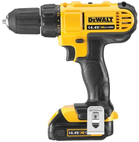 Dewalt Cordless Compact Drill Driver Black And Yellow