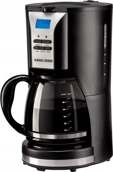 Black & Decker 1 Cup Coffee Maker Dcm 25 Review : Black & Decker 12 Cup Coffee Maker 1000 Watts, Black [DCM90-B5], price, review and buy in Dubai ...
