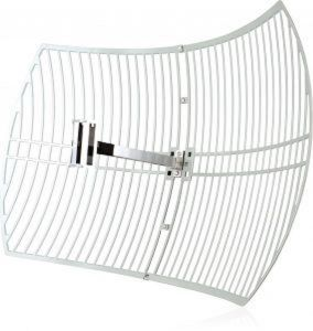 Bundle of 2 TP-Link TL-ANT2424B 2.4GHz 24dBi Grid Parabolic Antenna