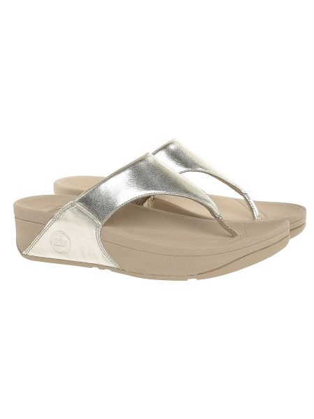 cdefccb44 FitFlop Gold Flip Flops Slipper For Women