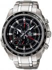 Casio Edifice Men's Black Chronograph Dial Stainless Steel Band Watch [EF-545D-1AV] (Watch)