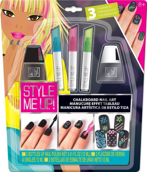 Style Me Up - Chalkboard Nail Art Kit (1659), price, review and buy ...