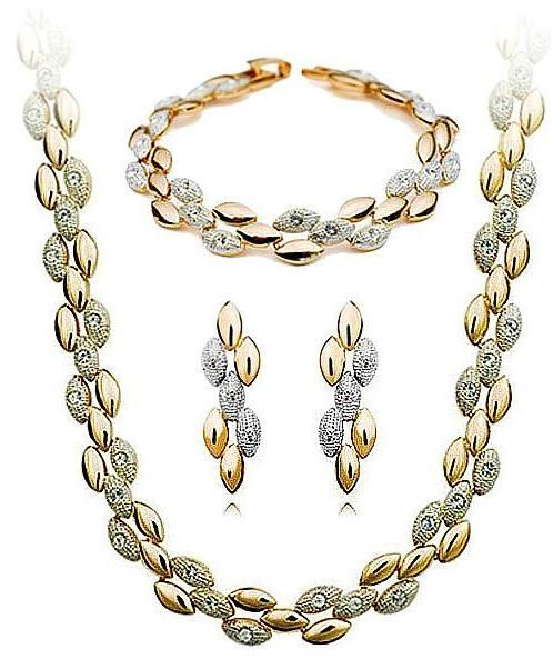 Buy Gold plated Jewellery set Singapore design Jewelry sets