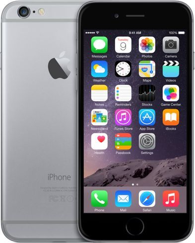Apple iPhone 6 with FaceTime - 64GB, 4G LTE, Space Gray