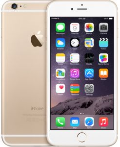 Apple iPhone 6 Plus with FaceTime - 16GB, 4G LTE, Gold