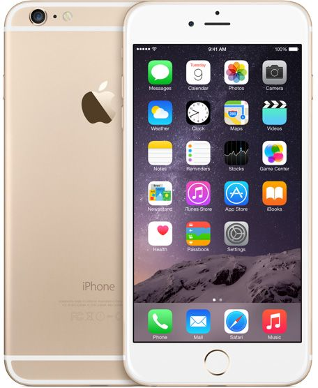 Apple iPhone 6 Plus with FaceTime - 64GB, 4G LTE, Gold
