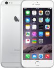Apple iPhone 6 Plus with FaceTime - 128GB, 4G LTE, Silver (Mobile Phone)