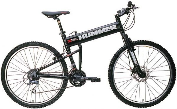 Hummer Foldable Mountain Bike Black Price Review And Buy In
