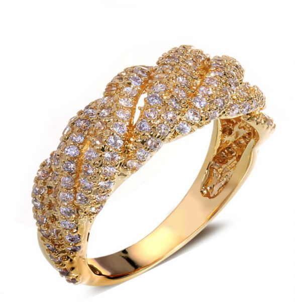 Buy 18k Gold Plated Wedding ring Rings UAE