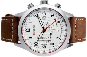 31f050146e 3 IN 1 CURREN 8152 Men s Quartz Analog Watch with Faux Leather Strap