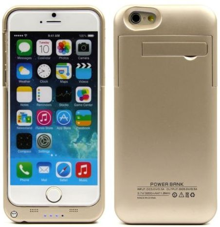 iphone 6 case with power bank