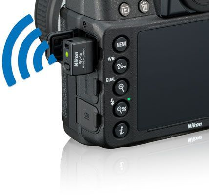 how to connect nikon wu 1a