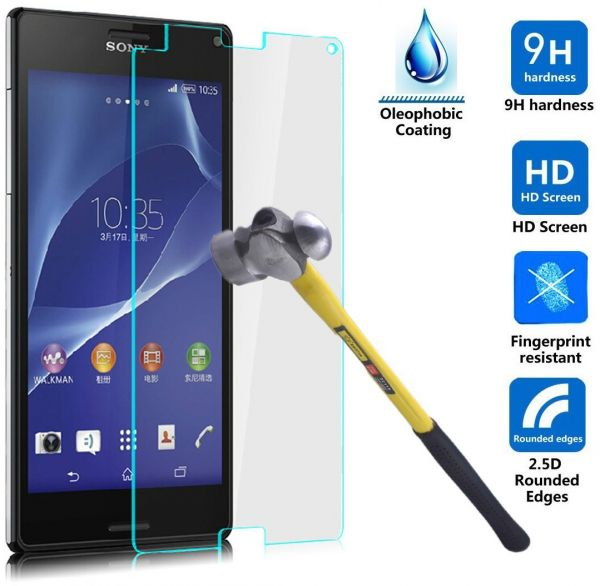 sony xperia z3 price. tempered glass screen protector anti-shock for sony xperia z3 price
