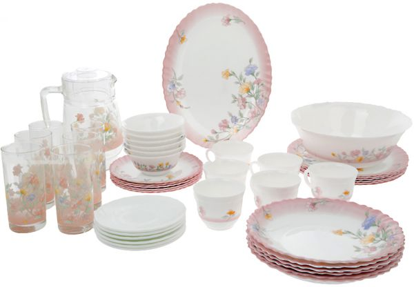 This item is currently out of stock  sc 1 st  Souq.com & Souq | Luminarc Elise Dinnerware Set of 38+7 Piece [DD7871] | UAE