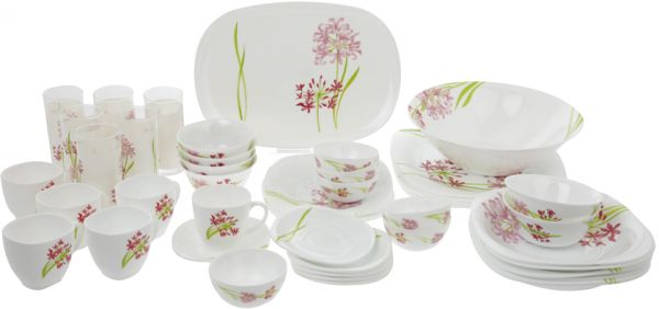 Luminarc Jacinthe Dinnerware Set of 95 Piece  sc 1 st  Souq.com : luminarc tableware - Pezcame.Com