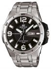 Casio Edifice For Men Black Dial Stainless Steel Band Watch - EFR-104D-1A (Watch)