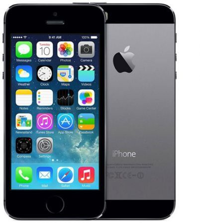 Apple iPhone 5S with FaceTime - 16GB, 4G LTE, Space Gray