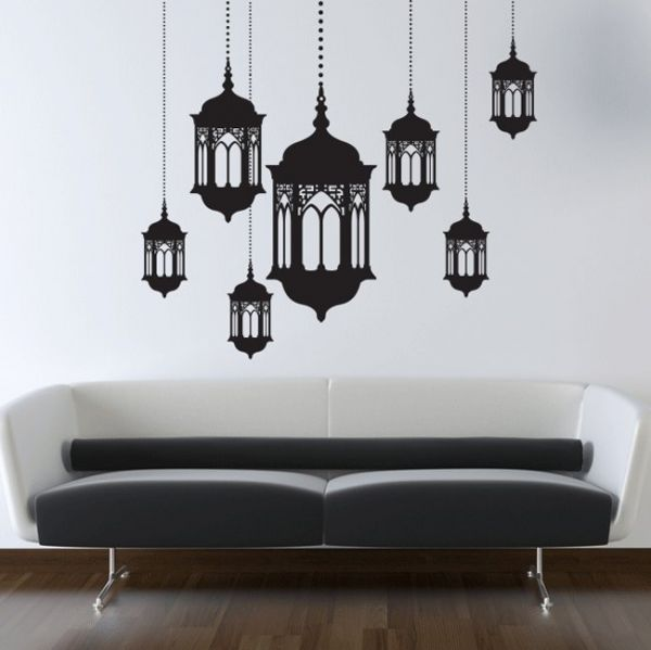 Walliv Set Of Lanterns Wall Sticker Decal Price Review And Buy - Wall decals dubai