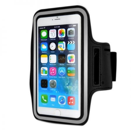 more photos bf04c 27a0d Water Resist Sports Armband For Apple Iphone 6/Iphone 6S 4.7 Inch Sports  Armband Case Cover-Black