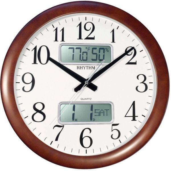 Rhythm Wall Clock Cfg901nr06 price review and buy in Dubai Abu