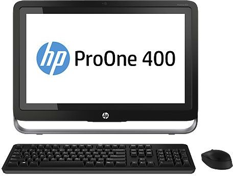 HP Pro One 400 G1 Desktop PC (Intel Core i3, 19.5