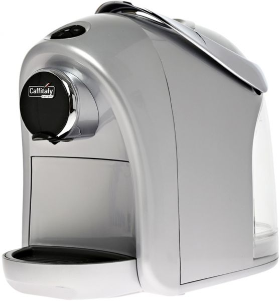 Souq Caffitaly Cyprea S12 Coffee Maker Silver Uae