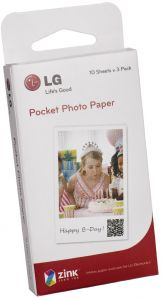 LG Pocket Photo Paper