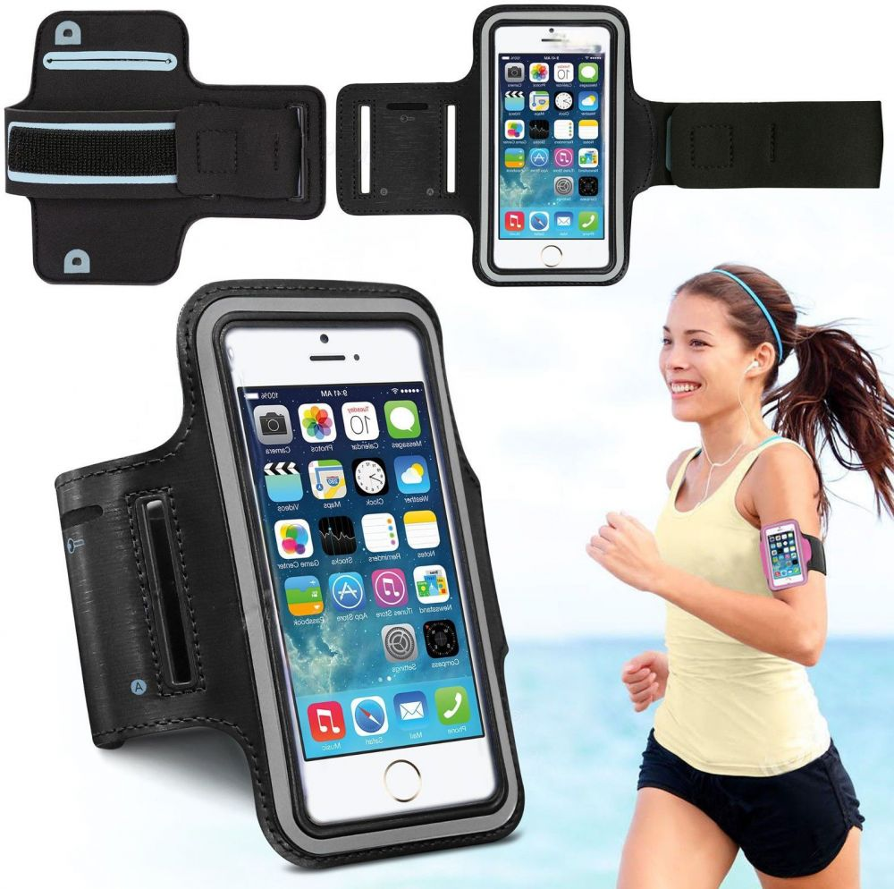 Other Armband Sports Gym Jogging Running Case Cover For Apple iPhone 5 5S  5C Black