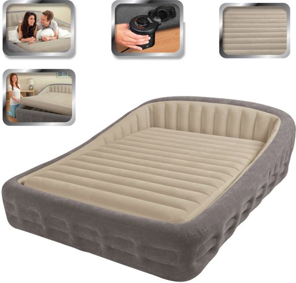 Souq Intex Luxury Comfort Frame Queen Size Airbed With