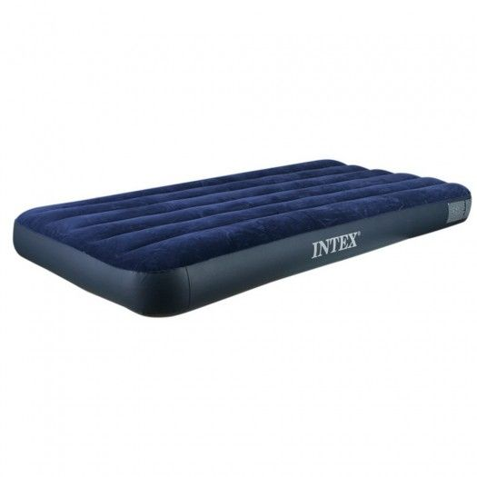 Intex Junior Twin Size Clic Downy Inflatable Airbed