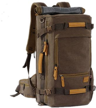 b6d1743507 Multifunctional cotton backpack men large canvas travel Bag Leisure bag  luggage bag OSM92 CF