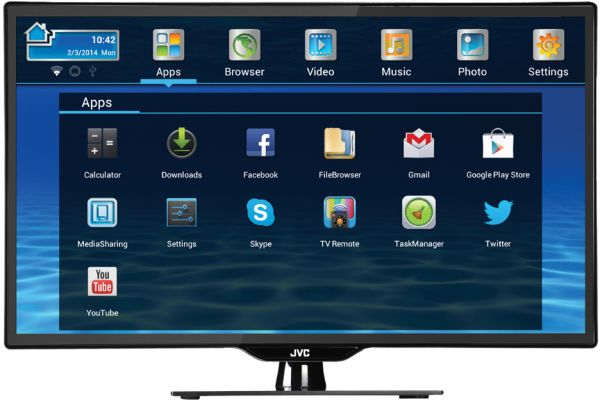 This item is currently out of stock JVC LT-50N950 Smart Full HD LED TV 50 Inch | KSA Souq