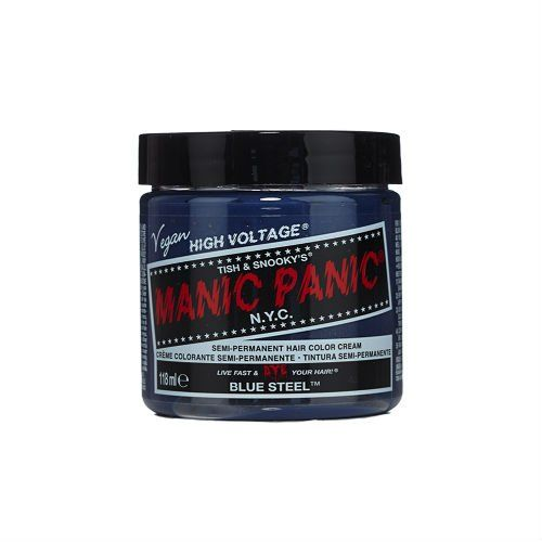 Manic Panic Semi-Permanent Color Cream - BLUE STEEL, price, review ...