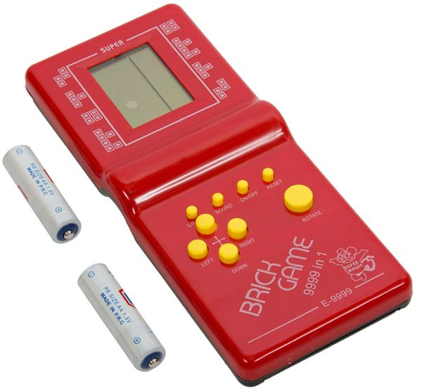 Brick Game 9999 In 1, Red [1000001006598]