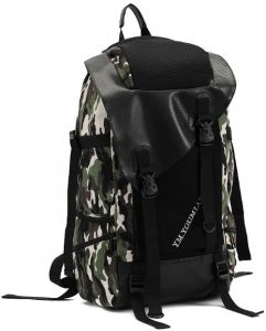745526b46001 Canvas backpack Travel bag High capacity Camouflage schoolbag Camping  computer bag Y54 Army Green