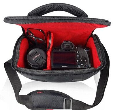 Photo Camera Bag for Canon EOS DSLR 100D 500D 550D 600D 650D ...