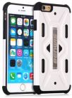 Benwis Cool Soilder Body PC & TPU Hybrid Case for iPhone 6 4.7 inch - White (Mobile Phone Accessories)