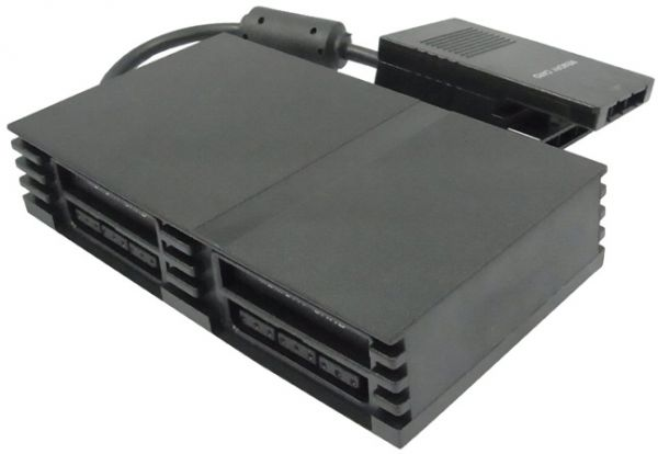 sony playstation 2 slim. multitap 4 player adapter for sony playstation 2 / ps2 slim game console playstation :