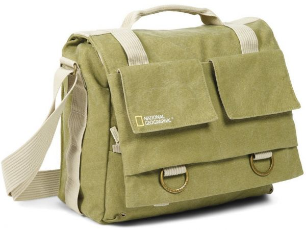 National Geographic Medium Dslr Messenger Bag Khaki Ng 2476