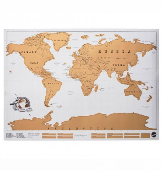 Luckies scratch map personalised world map poster price review luckies scratch map personalised world map poster gumiabroncs Images