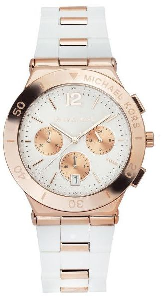 michael kors wyatt for men white dial silicone band watch mk5935 this item is currently out of stock