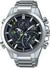 Casio Edifice For Men Black Dial Stainless Steel Band Chronograph Watch - EQB-500D-1A (Watch)