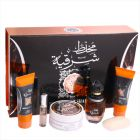 Mukhallat Sharqia Gift Set (EDP 100ml& 20ml, Powder, Body Lotion 100ml, Soap & Shower Gel 100ml) (Fragrance Gift Set)